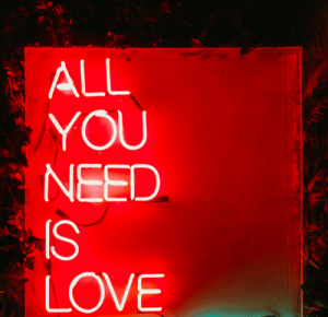 All you need is love by Chris Liverani