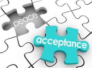 Acceptance leads to peace